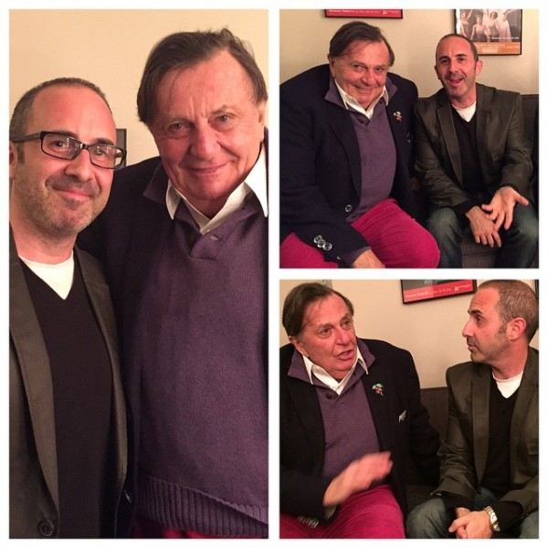 One of my heroes, Barry Humphries (Dame Edna)