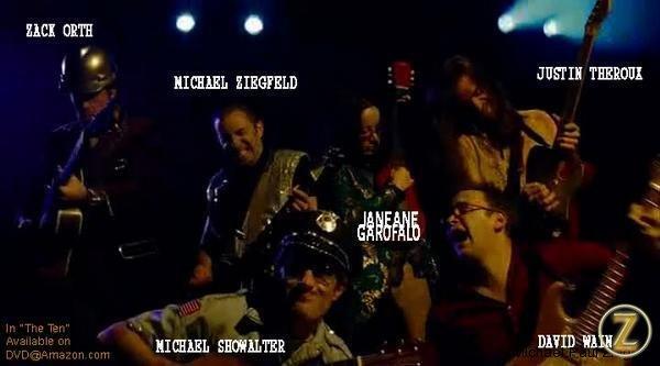 Zack Orth, Michael Showwalter, Janeane Garofalo, Justin Theroux and David Wain.