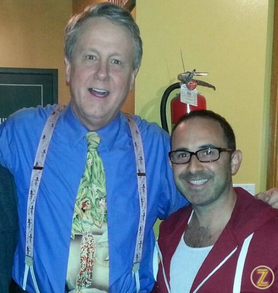 Post show with Harry Anderson @ Comedy & Magic Club