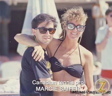 Canadian Tennis Pro, Marcie Saifer