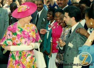 Meeting Queen Elizabeth