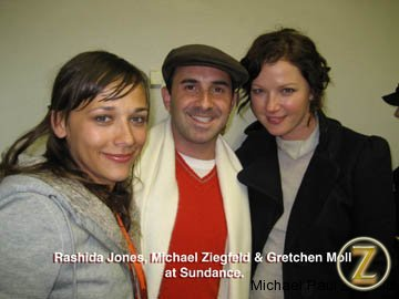 Rasheda Jones and Gretchen Moll