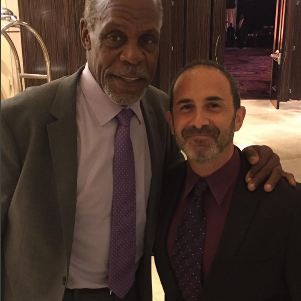 Danny Glover and I talk about equality. He has been a leader in civil rights for 30 years.