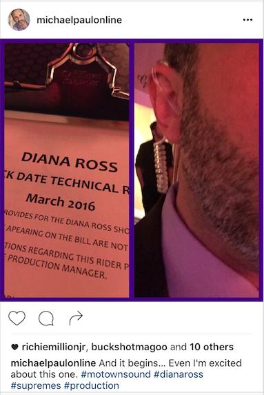 Wrangling for Diana Ross