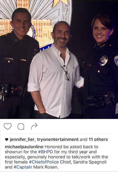 BHPD's first female chief!