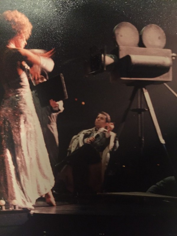 """As """"The Director"""" 1997"""
