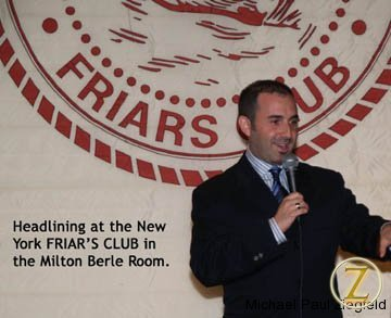 Performing at the Friar\'s Club