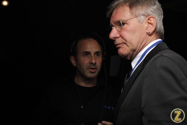 Directing Harrison Ford