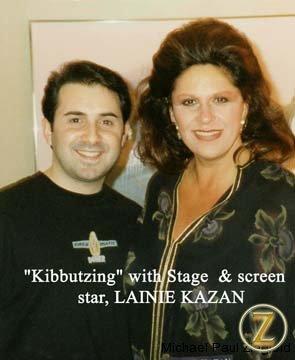 Film and Stage Star, Lannie Kazan