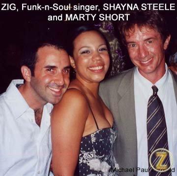 Shayna, I and Martin Short