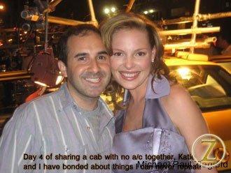Katie Heigl and I