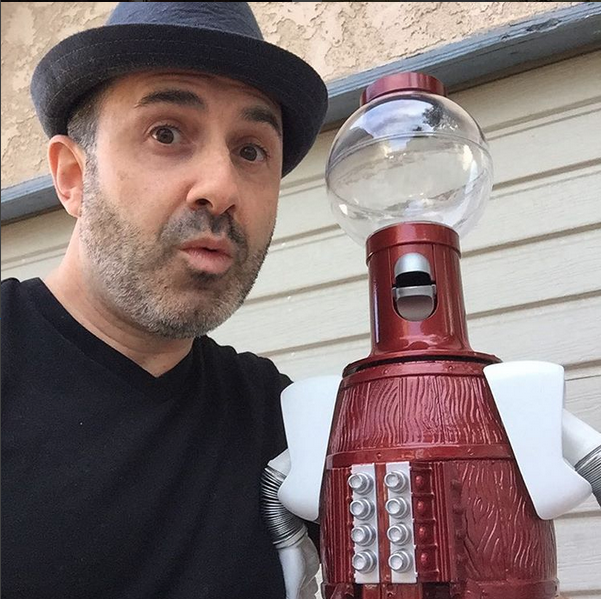 "Tom Servo ""Mystery Science Theater"""