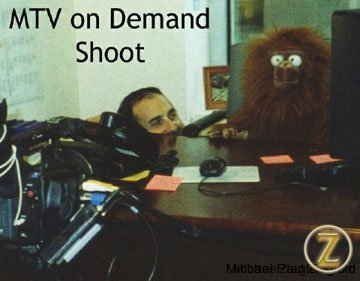 MTV test shoot