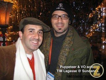 Puppeteer/director Tim Lagasse