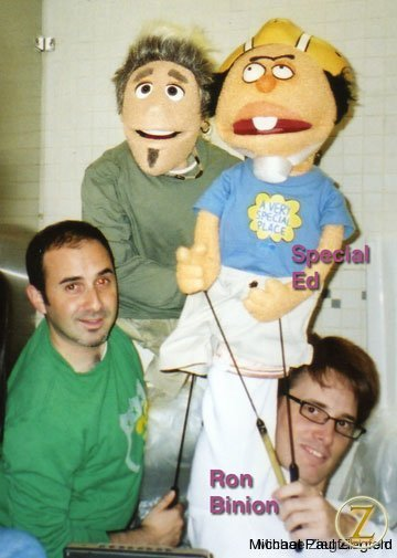 Ron Binion and I for a Crank Yankers spot