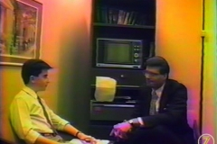 16 year old me interviewing Extra's Jerry Penacoli