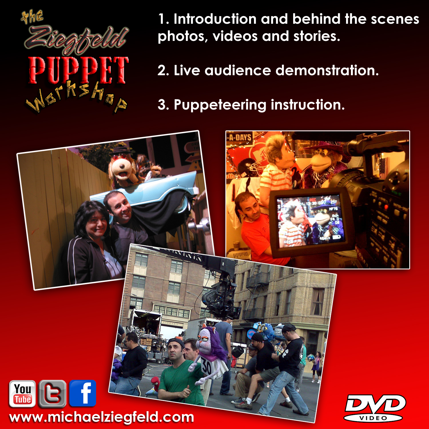 puppet workshop dvd sleeve back