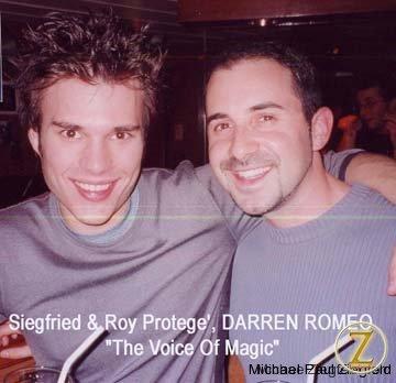 Siegfried & Roy's protege, Darren Romeo