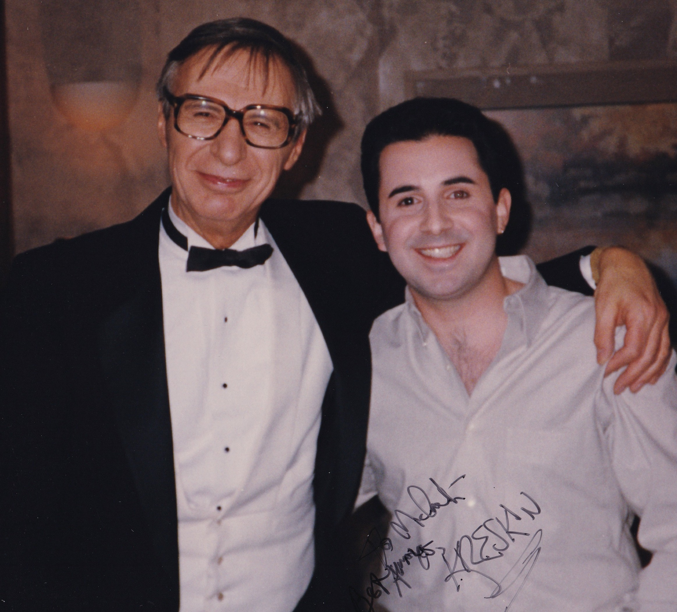 Split bill with The Amazing Kreskin