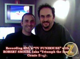 TV Funhouse/Triumph's Rob Smiegel