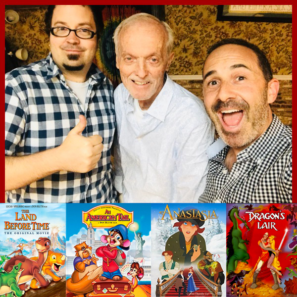 Deal signing with Don Bluth Productions