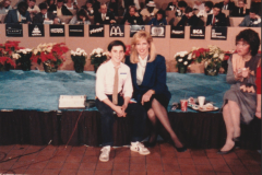 Intern at KYW-TV Philadelphia - Weekend with the Stars Telethon