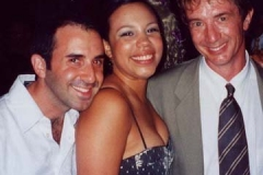 Shayna, me and Marty Short