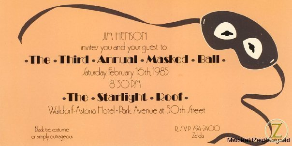 Henson invitation