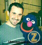 GROVER and I say goodbye the last day!