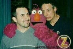 TELLY monster and Marty