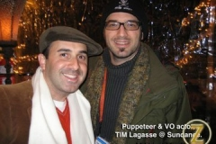 Tim Lagasse and I at Sundance